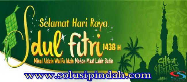 Banner Idul Fitri Solusi