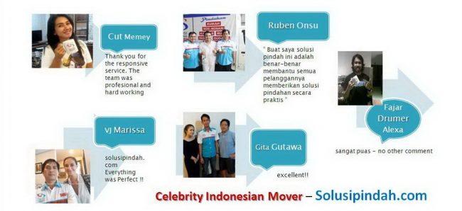 celebrity Indonesia Mover. solusi pindah